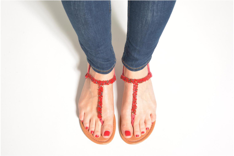Sandales et nu-pieds Xti Grenade 26915 Rose vue bas / vue portée sac