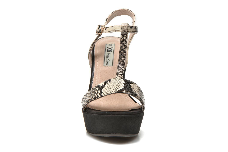 Sandales et nu-pieds Xti Antigua 29715 Vert vue portées chaussures