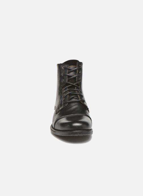 Stiefeletten & Boots Levi's Emerson Lace Up schwarz schuhe getragen