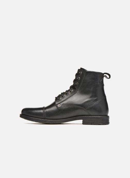 Boots en enkellaarsjes Levi's Emerson Lace Up Zwart voorkant