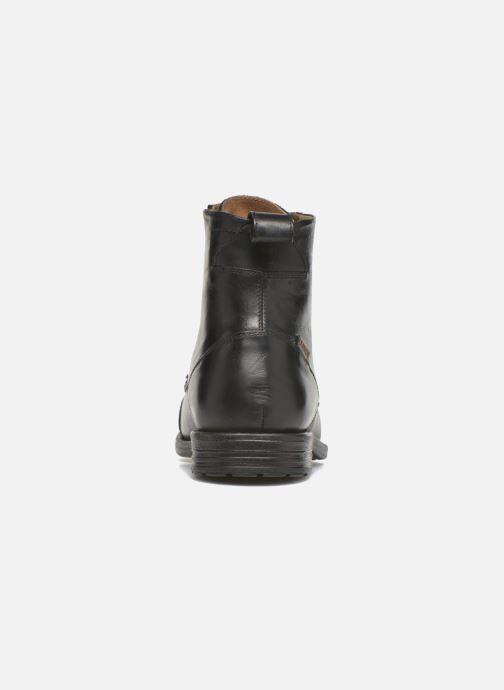 Boots en enkellaarsjes Levi's Emerson Lace Up Zwart rechts