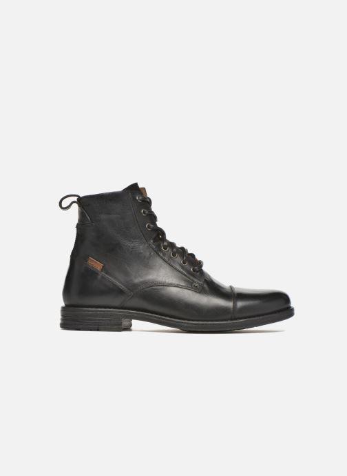 Boots en enkellaarsjes Levi's Emerson Lace Up Zwart achterkant