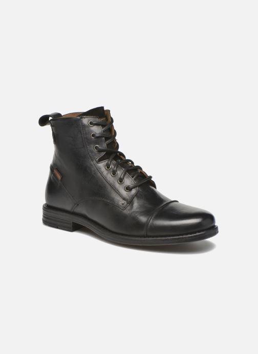 Boots en enkellaarsjes Levi's Emerson Lace Up Zwart detail