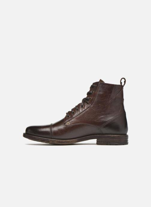 Bottines et boots Levi's Emerson Lace Up Marron vue face