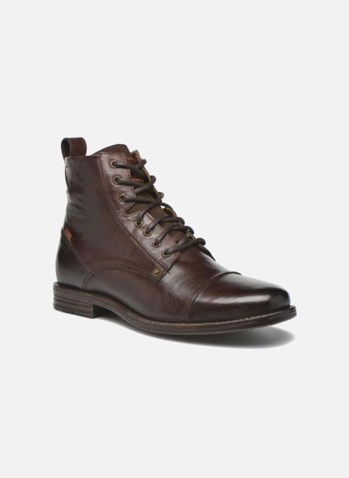Bottines et boots Levi's Emerson Lace Up Marron vue détail/paire