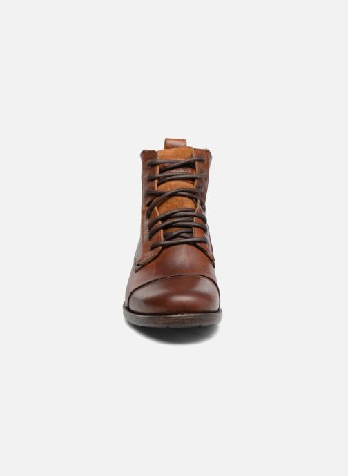 Ankelstøvler Levi's Emerson Lace Up Brun se skoene på
