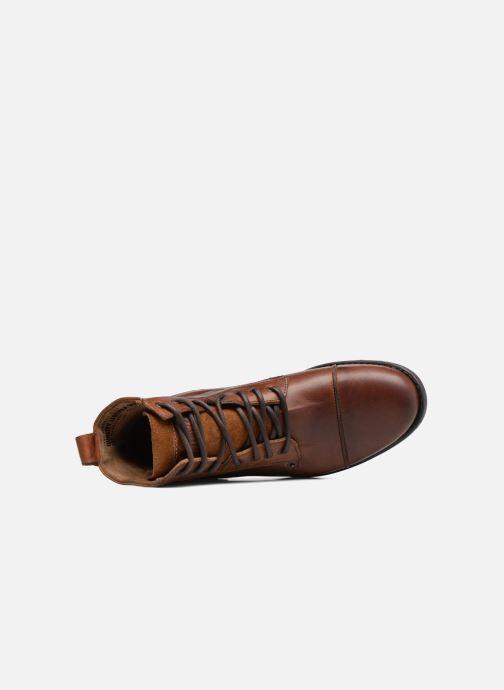 Boots en enkellaarsjes Levi's Emerson Lace Up Bruin links