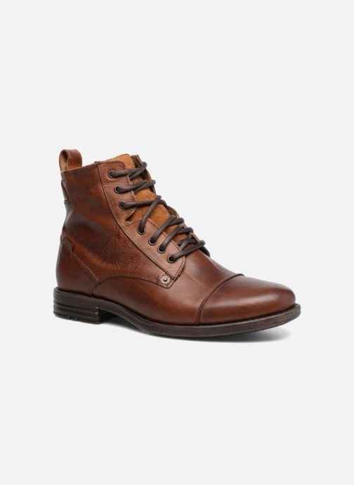 Ankelstøvler Levi's Emerson Lace Up Brun detaljeret billede af skoene