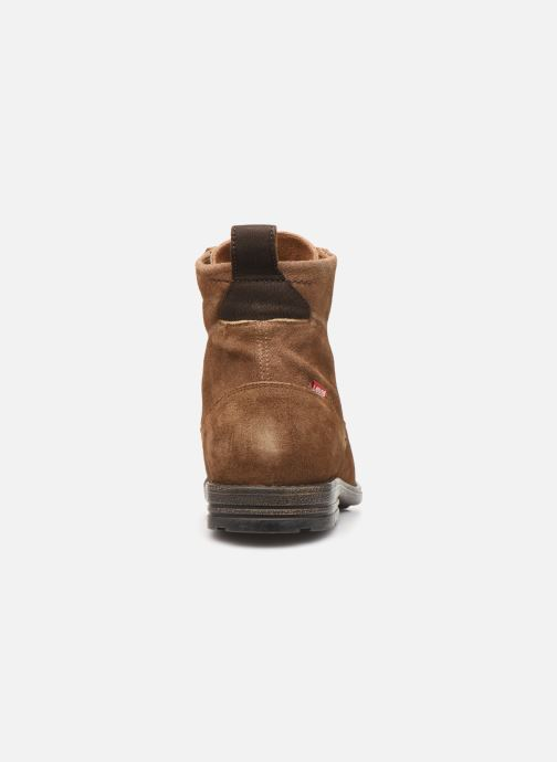 Bottines et boots Levi's Emerson Lace Up Marron vue droite