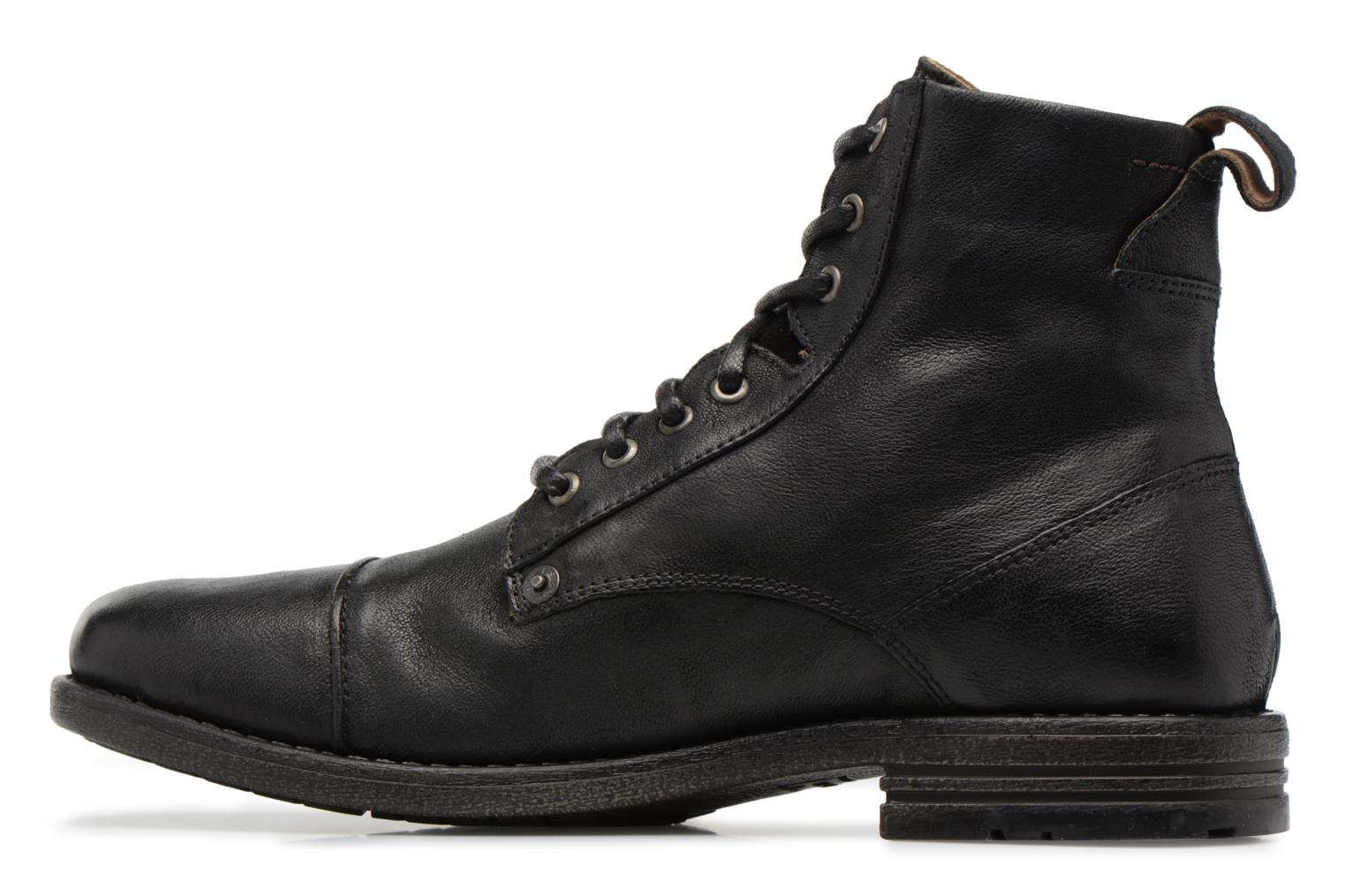 Ankle boots Levi's Emerson Lace Up Black front view