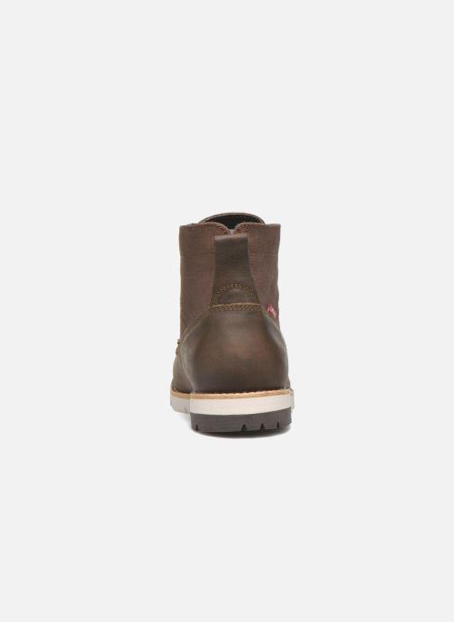 Bottines et boots Levi's Jax Marron vue droite