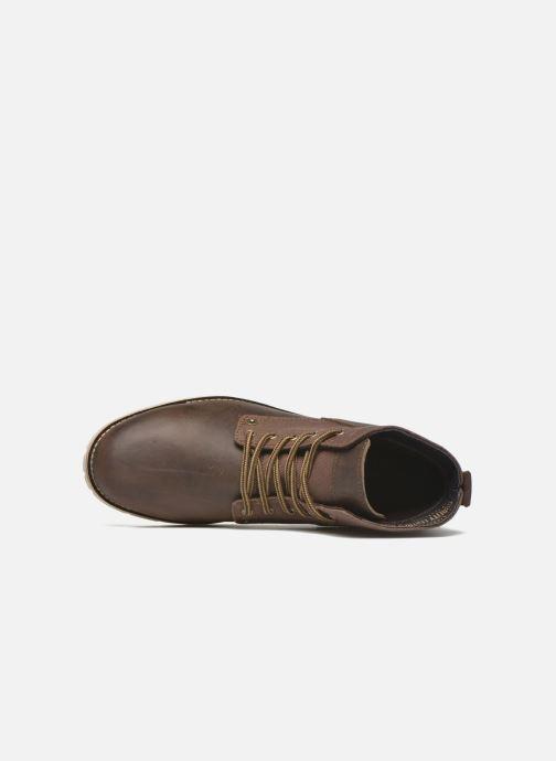 Boots en enkellaarsjes Levi's Jax Bruin links