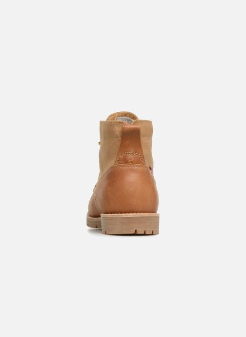 Ankle boots Levi's Jax Beige view from the right