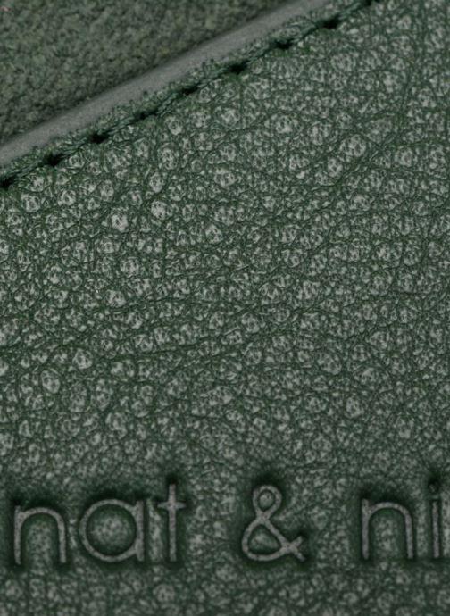 Petite Maroquinerie Nat & Nin Talia Vert vue gauche