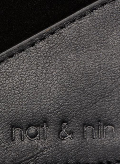 Petite Maroquinerie Nat & Nin Talia Noir vue gauche