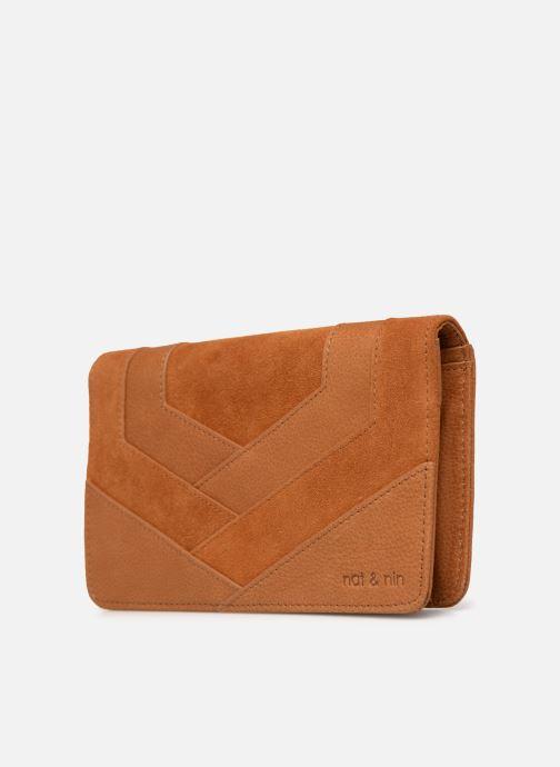 Portemonnaies & Clutches Nat & Nin Talia braun schuhe getragen