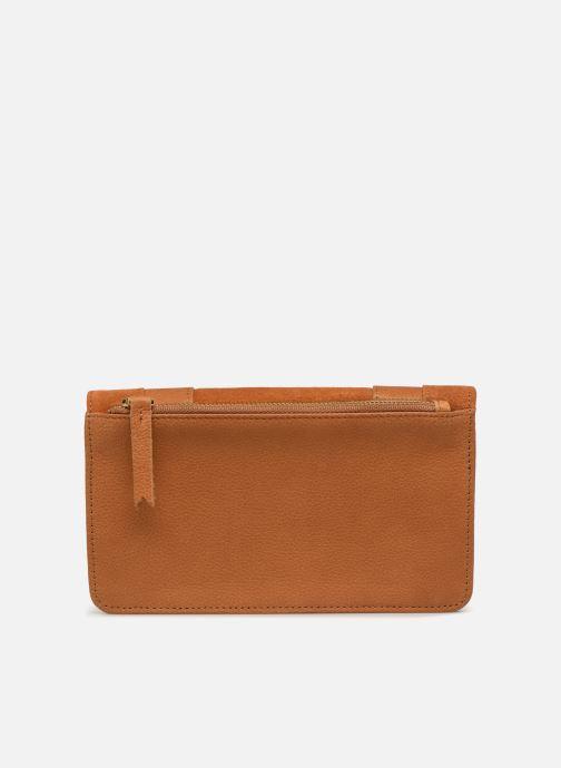 Portemonnaies & Clutches Nat & Nin Talia braun ansicht von vorne