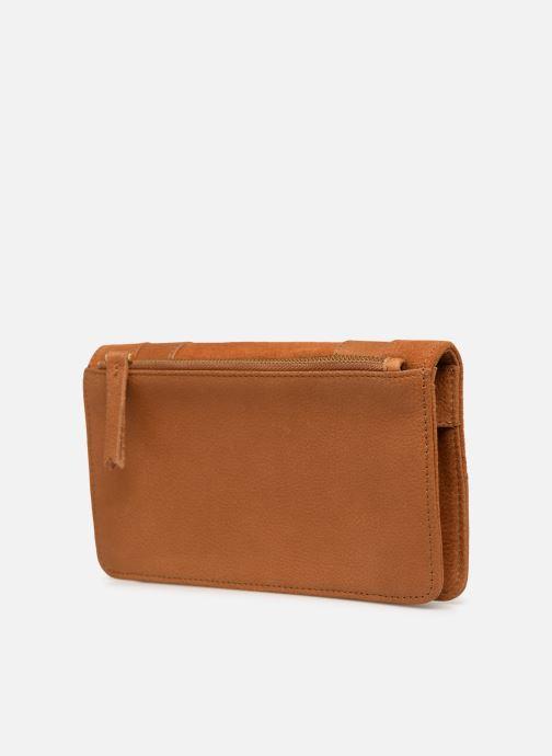 Portemonnaies & Clutches Nat & Nin Talia braun ansicht von rechts