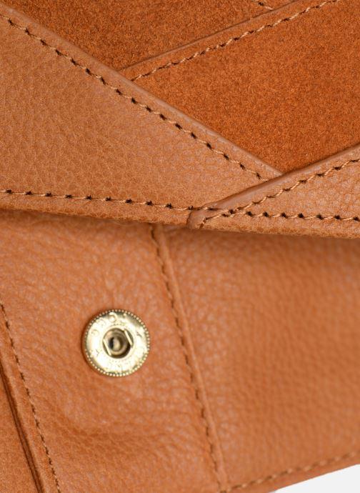 Portemonnaies & Clutches Nat & Nin Talia braun ansicht von links