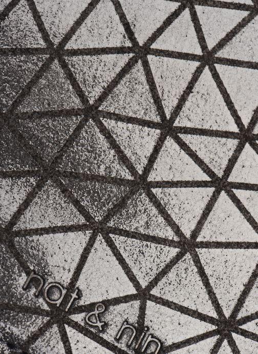 Marroquinería pequeña Nat & Nin Talia Negro vista lateral izquierda