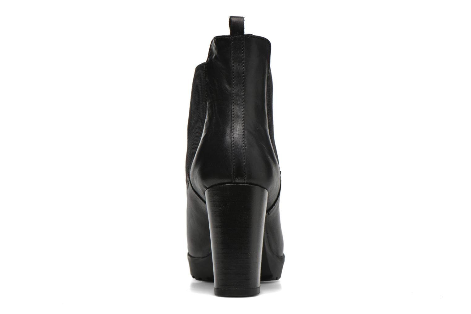 Ankle boots Georgia Rose Anateau Black view from the right