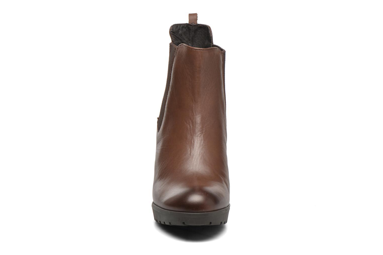 Bottines et boots Georgia Rose Anateau Marron vue portées chaussures