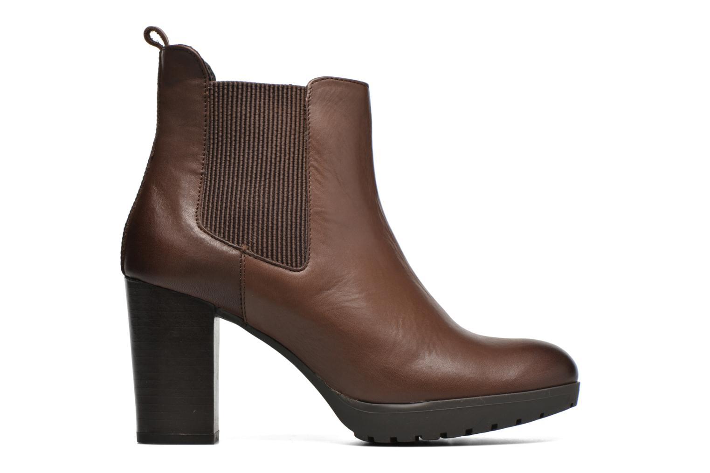 Bottines et boots Georgia Rose Anateau Marron vue derrière