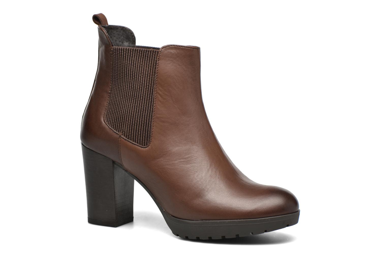 Bottines et boots Georgia Rose Anateau Marron vue détail/paire