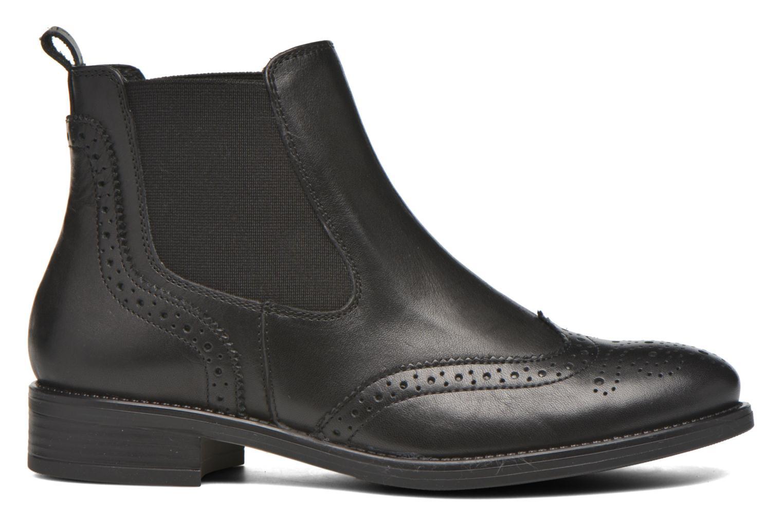Bottines et boots Georgia Rose Alsea Noir vue derrière