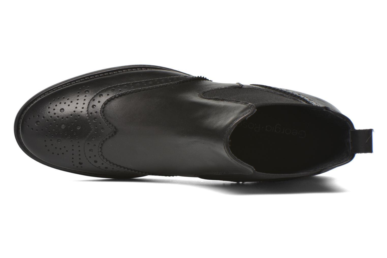 Bottines et boots Georgia Rose Alsea Noir vue gauche