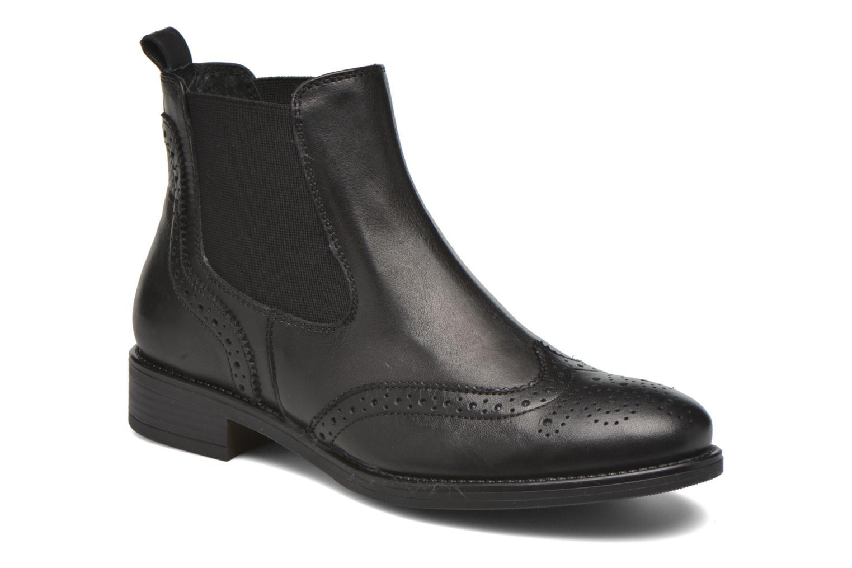 Bottines et boots Georgia Rose Alsea Noir vue détail/paire