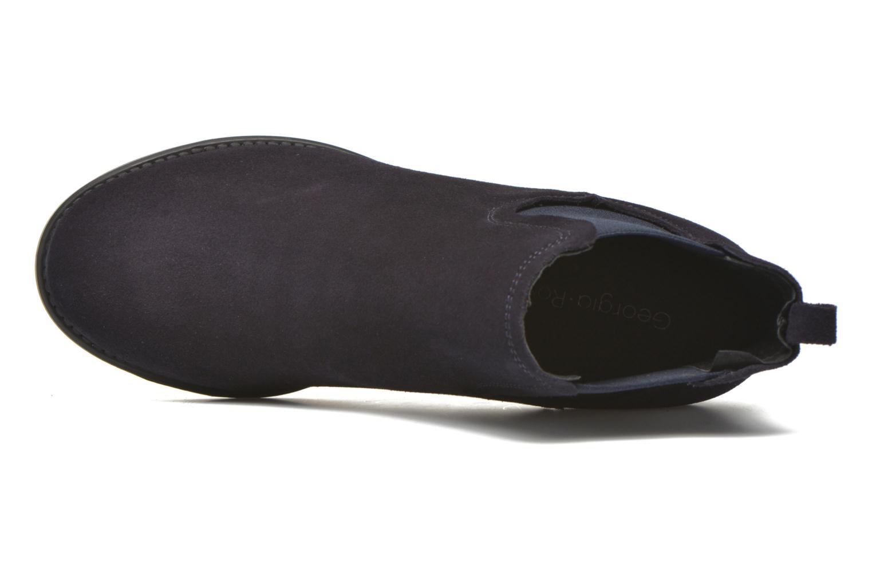 Bottines et boots Georgia Rose Analla Bleu vue gauche