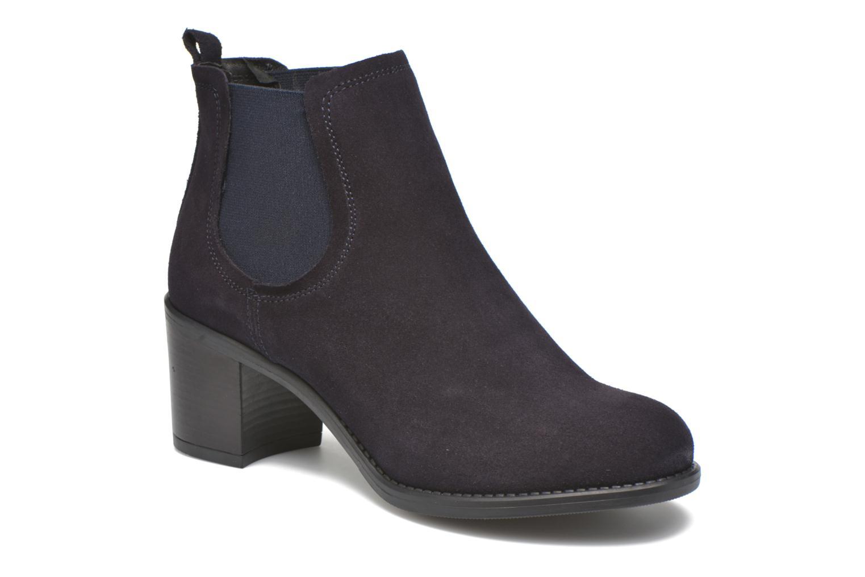 Bottines et boots Georgia Rose Analla Bleu vue détail/paire