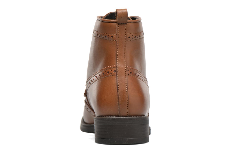 Bottines et boots Georgia Rose Anglais Marron vue droite