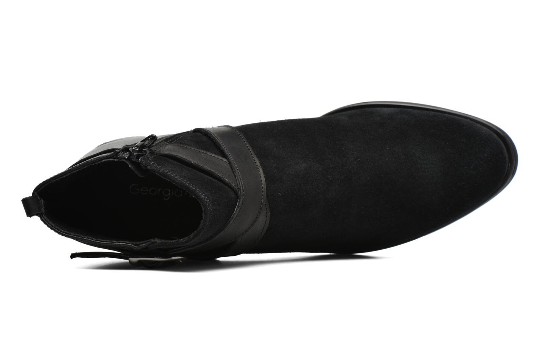 Bottines et boots Georgia Rose Anoucle Noir vue gauche