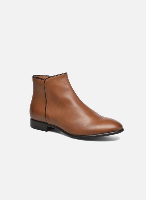 Bottines et boots Georgia Rose Anouping Marron vue détail/paire