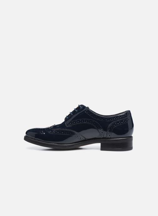 Chaussures à lacets Georgia Rose Anglish Bleu vue face