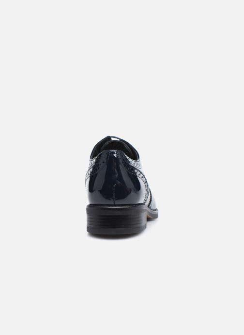 Chaussures à lacets Georgia Rose Anglish Bleu vue droite
