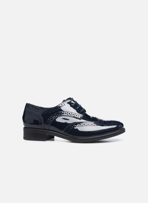 Chaussures à lacets Georgia Rose Anglish Bleu vue derrière