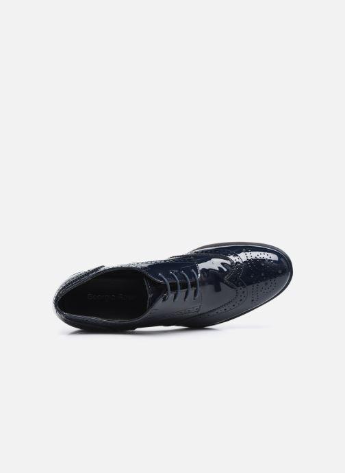 Chaussures à lacets Georgia Rose Anglish Bleu vue gauche