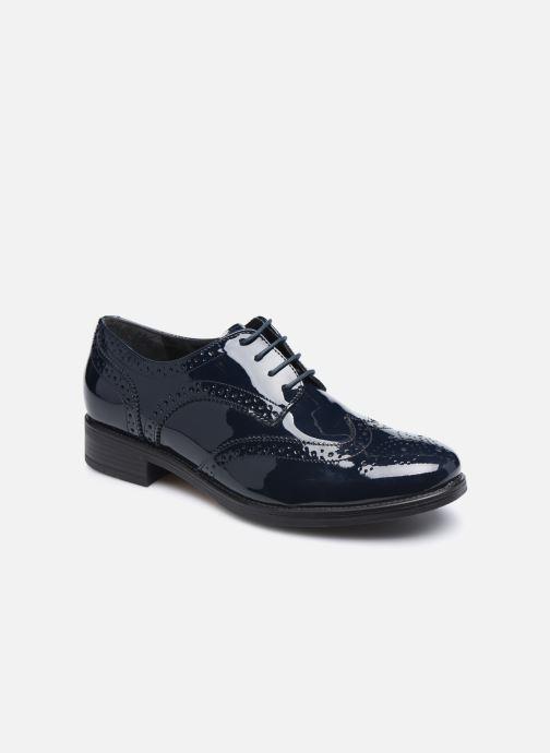 Chaussures à lacets Georgia Rose Anglish Bleu vue détail/paire