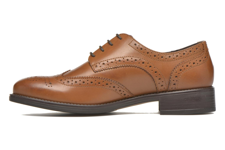 Chaussures à lacets Georgia Rose Anglish Marron vue face