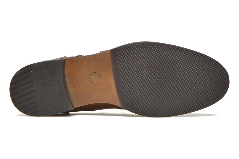 Chaussures à lacets Georgia Rose Anglish Marron vue haut