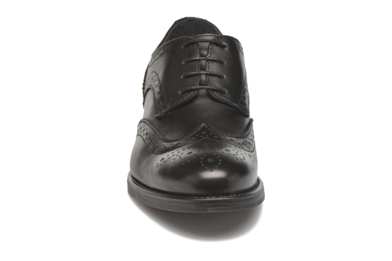 Chaussures à lacets Georgia Rose Anglish Noir vue portées chaussures