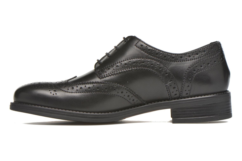 Chaussures à lacets Georgia Rose Anglish Noir vue face