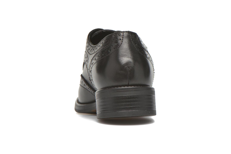 Chaussures à lacets Georgia Rose Anglish Noir vue droite