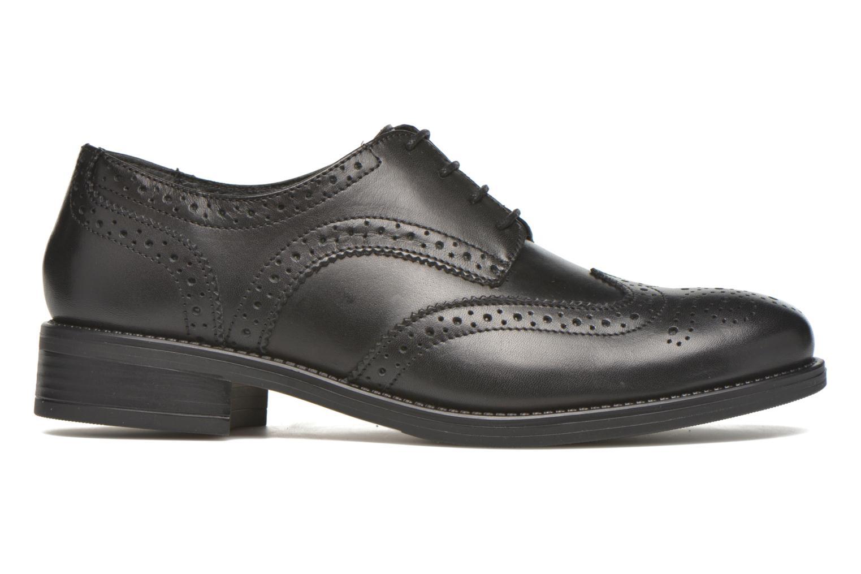 Chaussures à lacets Georgia Rose Anglish Noir vue derrière
