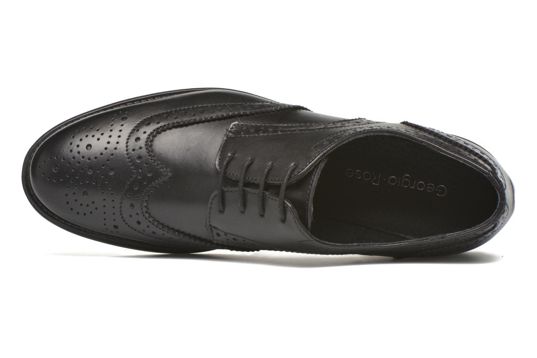 Chaussures à lacets Georgia Rose Anglish Noir vue gauche