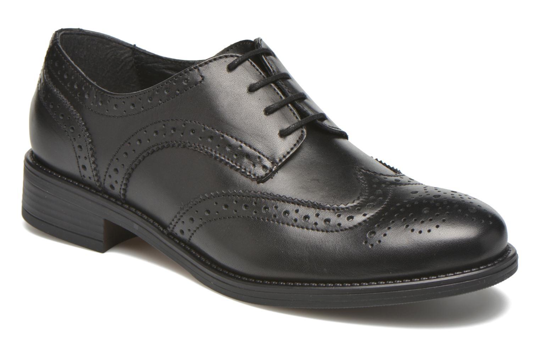 Chaussures à lacets Georgia Rose Anglish Noir vue détail/paire
