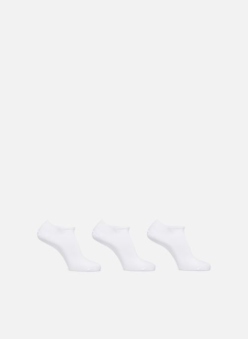 Socks & tights Sarenza Wear Chaussettes invisibles Homme unies Pack de 3 Coton White detailed view/ Pair view